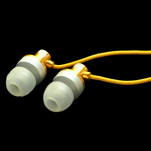 Full Metal Jacket (FMJ) In-ear Headphones W/O MIC (Bulk Packaged)