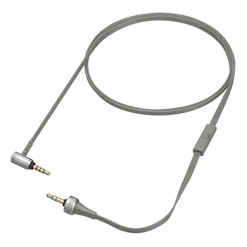 Sony MDR-XB920 Audio Cable w/ Mic & Remote Control - Gray