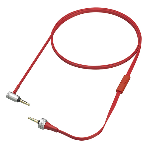 Sony MDR-XB920 Audio Cable w/ Mic & Remote Control - Red